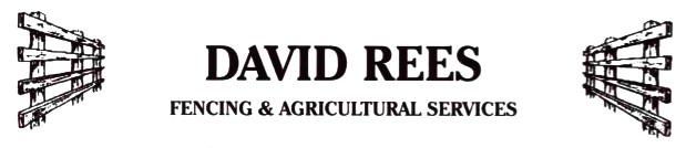 David Rees Fencing, Pembrokeshire